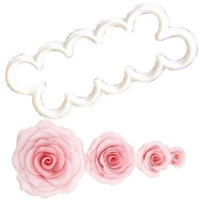 FMM Flower Cutters -THE EASIEST ROSE EVER -Κουπάτ Τριαντάφυλλο