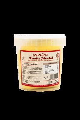 Saracino Modelling Paste 1 kilo -YELLOW -Πάστα Μοντελισμού -Κίτρινο