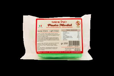 Saracino Modelling Paste 250g -LIGHT GREEN -Πάστα Μοντελισμού -Λαχανί - 250γρ