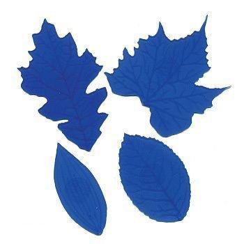 FMM - Veining Mats Blue - Ανάγλυφα Πατάκια Φύλλων - 4τεμ/πακέτο - 65 έως 105χιλ