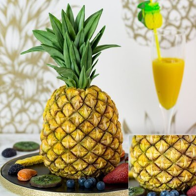 Karen Davies Silicone Mould -TROPICAL PINEAPPLE -Καλούπι Τροπικός Ανανάς