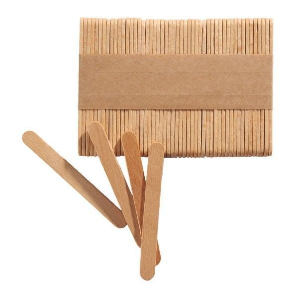 Silikomart Popsicle Sticks pack of 100 - Ξυλάκια 11.3x0.2εκ 100τεμ