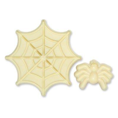 JEM Pop It Mould -SPIDER & WEB -Καλούπι Αράχνη με Ιστό -2 τεμ.