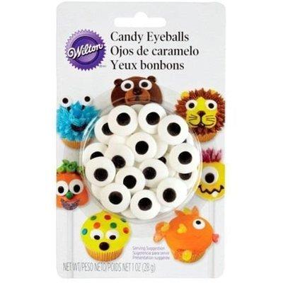 Wilton Sprinkles -Candy Eyeballs -LARGE 24τμχ μεγάλα βρώσιμα ζαχαρένια μάτια 1.7εκ