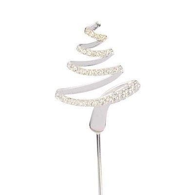 Cake Star Topper Diamante -TREE -Τόπερ με Διαμαντάκια -Χριστουγεννιάτικο Δέντρο