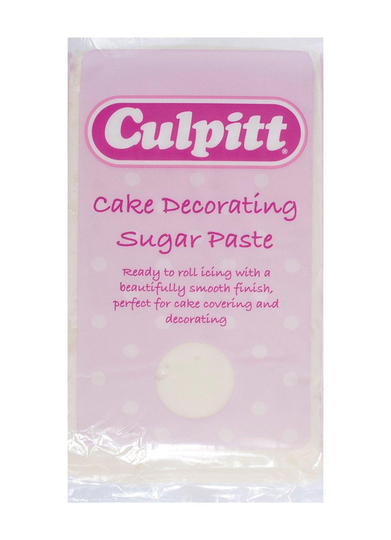 Culpitt Sugar Paste -IVORY -Ζαχαρόπαστα Εκρού 1 κιλό
