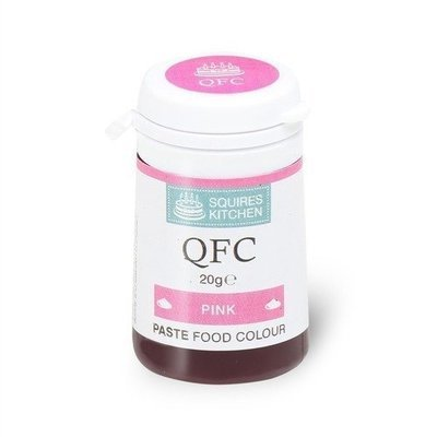 Squires Kitchen Paste Food Colours  -Pink -χρώμα πάστα ροζ 20γρ