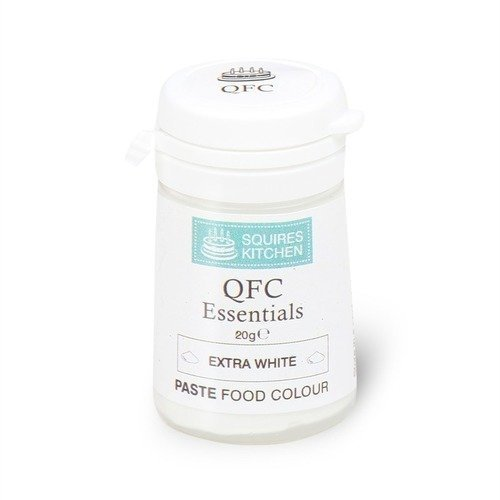 Squires Kitchen Paste Food Colours  -Extra White -χρώμα πάστα λευκό 20γρ