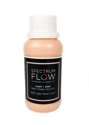 Spectrum Flow Edible Airbrush Paint -SKIN TONES -No.02 LIGHT BASE LAYER -Χρώμα Αερογράφου 45ml - απόχρωση δέρματος νο.2 απαλή βάση