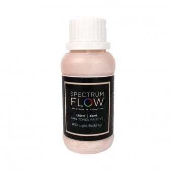 Spectrum Flow Edible Airbrush Paint -SKIN TONES -No.03 LIGHT BUILD UP -Χρώμα Αερογράφου 45ml απόχρωση δέρματος νο.3 ελαφριά στρώση