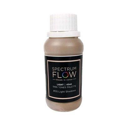 Spectrum Flow Edible Airbrush Paint -SKIN TONES -No.05 LIGHT SHADOWS -Χρώμα Αερογράφου 45ml απόχρωση δέρματος νo.5  ελαφριές σκιές