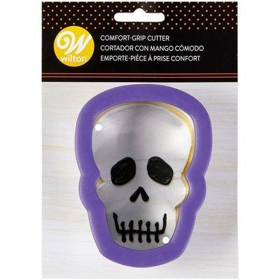 Wilton Grippy Cutter -Skull/Head 11cm κουπάτ νεκροκεφαλή με λαβή σιλικόνης 11εκ