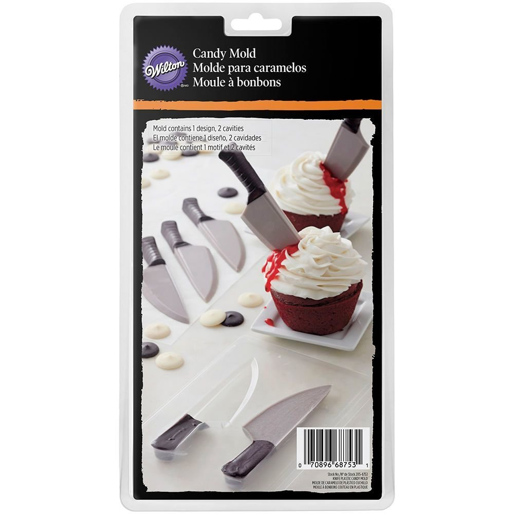 Wilton Halloween Candy Mould -Knife καλούπι μαχαίρι 3,8 x 15,9 x 1,3εκ