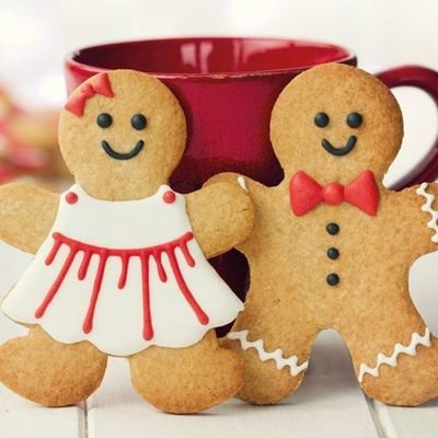 FunCakes - Mix Special Edition Mix for Gingerbread 500g - Μείγμα Περιορισμένης Έκδοσης Μπισκοτένια Ανθρωπάκια - 500γρ