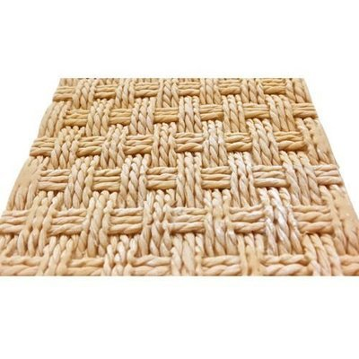 Karen Davies - Silicone Mould Rustic Basket Weave By Alice - Καλούπι Πλέξη Ρουστίκ Καλάθι