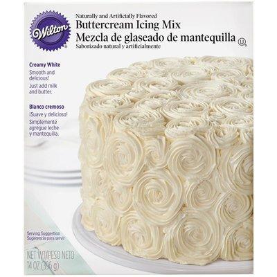 Wilton Creamy White Buttercream Icing Mix 400g λευκή βουτυρόκρεμα
