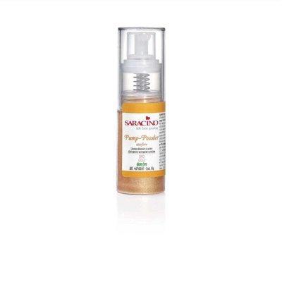 Saracino Pump Spray Edible Glitter Dust 10g -GOLD