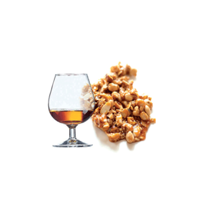 SALE!!! Saracino Flavour Paste -CROCCANTINO RUM -Crunchy Rum 1 κιλό - Συμπυκνωμένη Πάστα Ρούμι