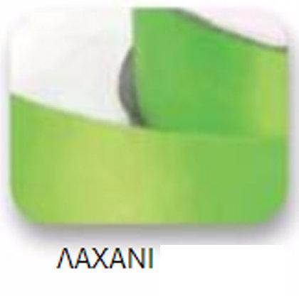 Ribbons - 6.5mm Pale Green Double Faced Satin Ribbon 100m - Κορδέλα Σατέν Διπλής Όψης Λαχανί