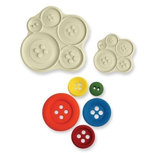 JEM Pop It Mould BUTTONS -Καλούπι Κουμπιά -2 τεμ