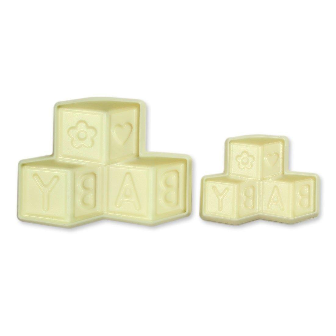 SALE!!! JEM Pop It Mould -BUILDING BLOCKS -Καλούπι Τουβλάκια 2 τεμ