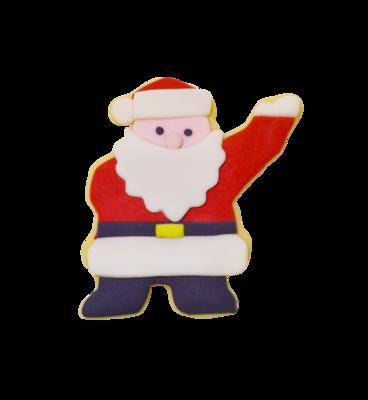 by AH -Cookie Cutter -WAVING SANTA -Κουπάτ Άγιος Βασίλης που Χαιρετάει 10εκ