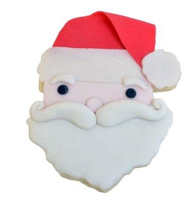 by AH -Cookie Cutter SANTA'S FACE -Κουπάτ Πρόσωπο Άγιος Βασίλης 10εκ