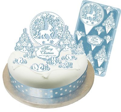 SALE!!! By AH -Nordic Stag Cake Topper Kit - Σκανδιναβικό Τόπερ Τούρτας Ελάφι