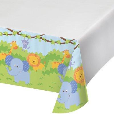 SALE!!! By AH - Forest Friends Tablecloth - Τραπεζομάντηλο Πλαστικό Φίλοι Του Δάσους - 1.22x2.24εκ -