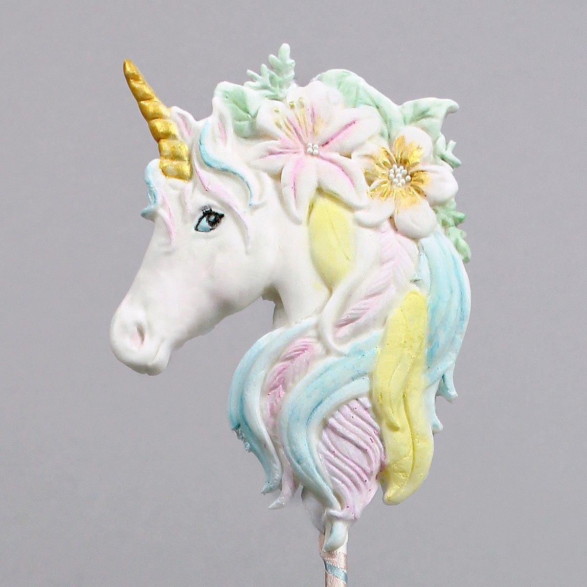 Katy Sue - Mould Large Unicorn Head - Καλούπι Μεγάλο Κεφάλι Μονόκερου - 12x8εκ