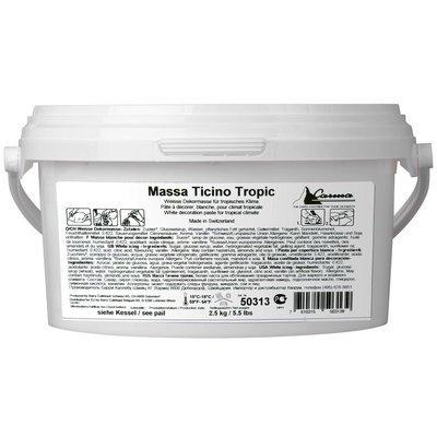 Carma -Massa Ticino TROPIC 2.5kg Sugarpaste -Ζαχαρόπαστα Massa Ticino 2.5k