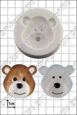 FPC - Bear Head Silicone Mould - Καλούπι Κεφαλάκι Αρκούδας