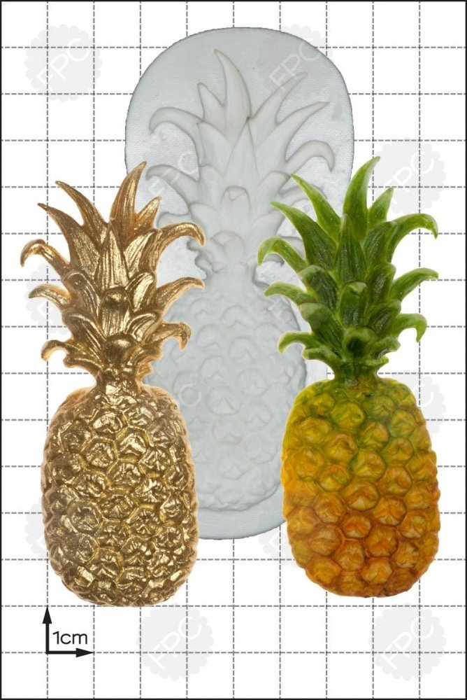 FPC Silicone Mould -LARGE PINEAPPLE -Καλούπι Μεγάλος Ανανάς