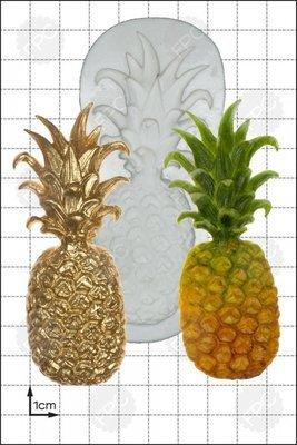 FPC Silicone Mould -LARGE PINEAPPLE -Καλούπι Μεγάλος Ανανάς