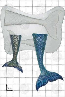 FPC Mermaid Tail Silicone Mould -Ουρά Γοργόνας Καλούπι