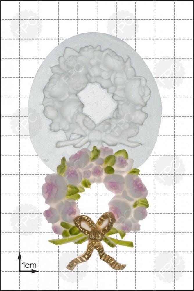FPC - Silicone Mould - Rose Wreath Mould - Στεφάνι Τριαντάφυλλο Καλούπι