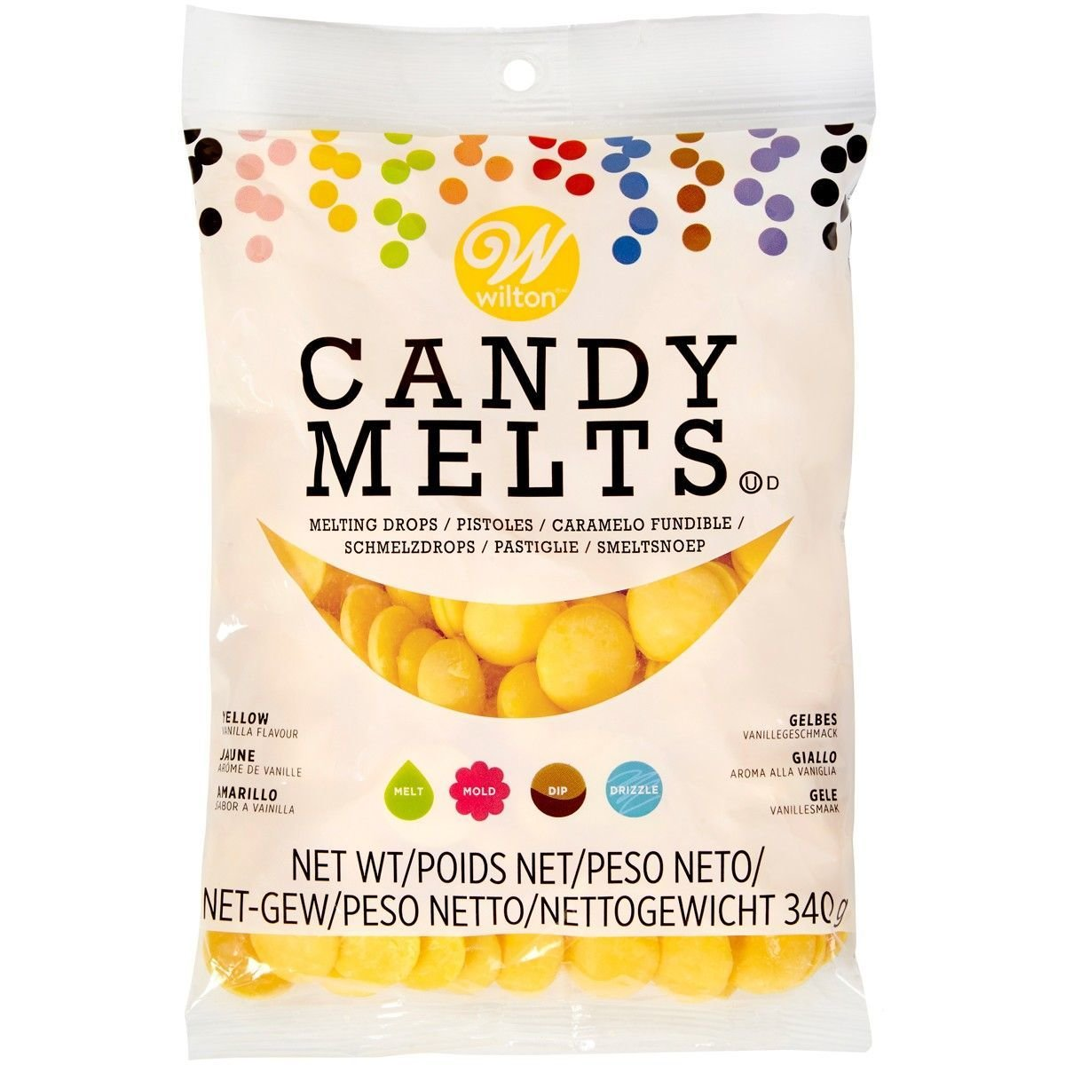 Wilton Candy Melts® Yellow 340g - Κίτρινο