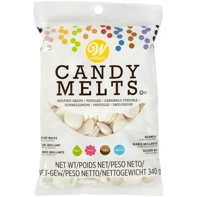 Wilton Candy Melts® -BRIGHT WHITE 340g