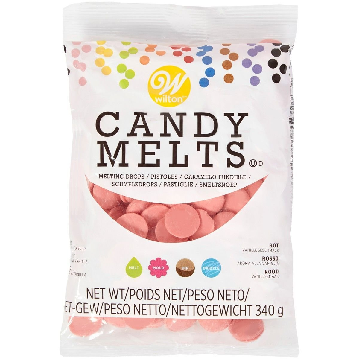 Wilton Candy Melts® Red 340g - Κόκκινο
