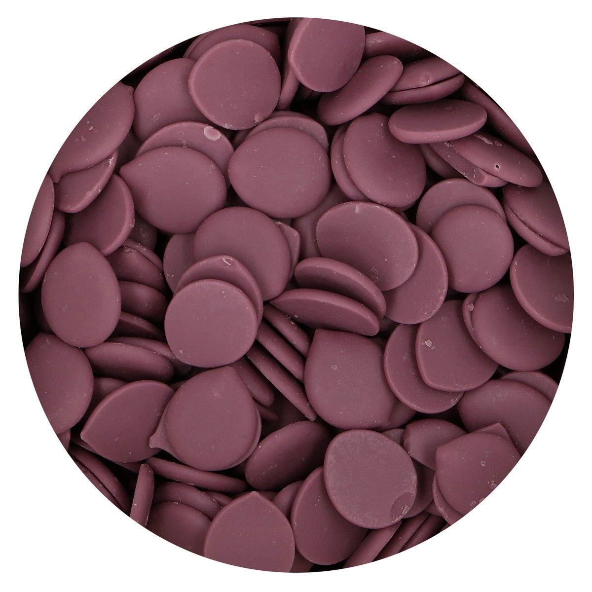Funcakes - Deco Melts Purple (Natural Colouring) 250g - Κουβερτούρα Μωβ - 250γρ