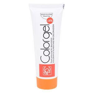 SALE!!! #Modecor - Color Gel Orange - Χρώμα Πάστα Πορτοκαλί - 100γρ