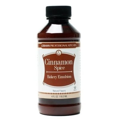 Lorann Bakery Emulsion -CINNAMON SPICE -Γαλάκτωμα Ζαχαροπλαστικής Κανέλα 118ml
