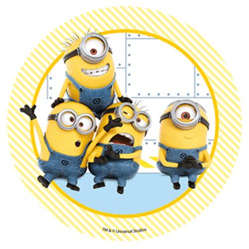 #Βρώσιμη εκτύπωση - DESPICABLE ME - Four Minions. 21εκ