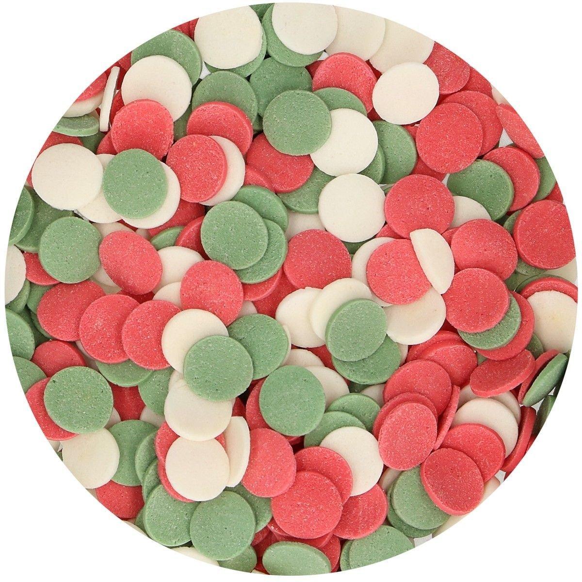 SALE!!! FunCakes Confetti Sprinkles -XL CHRISTMAS -Κονφετί XL Χριστούγεννα 55γρ-ΑΝΑΛΩΣΗ ΚΑΤΑ ΠΡΟΤΙΜΗΣΗ 9/2020