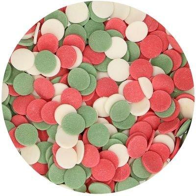 SALE!!! FunCakes Confetti Sprinkles -XL CHRISTMAS -Κονφετί XL Χριστούγεννα 55γρ