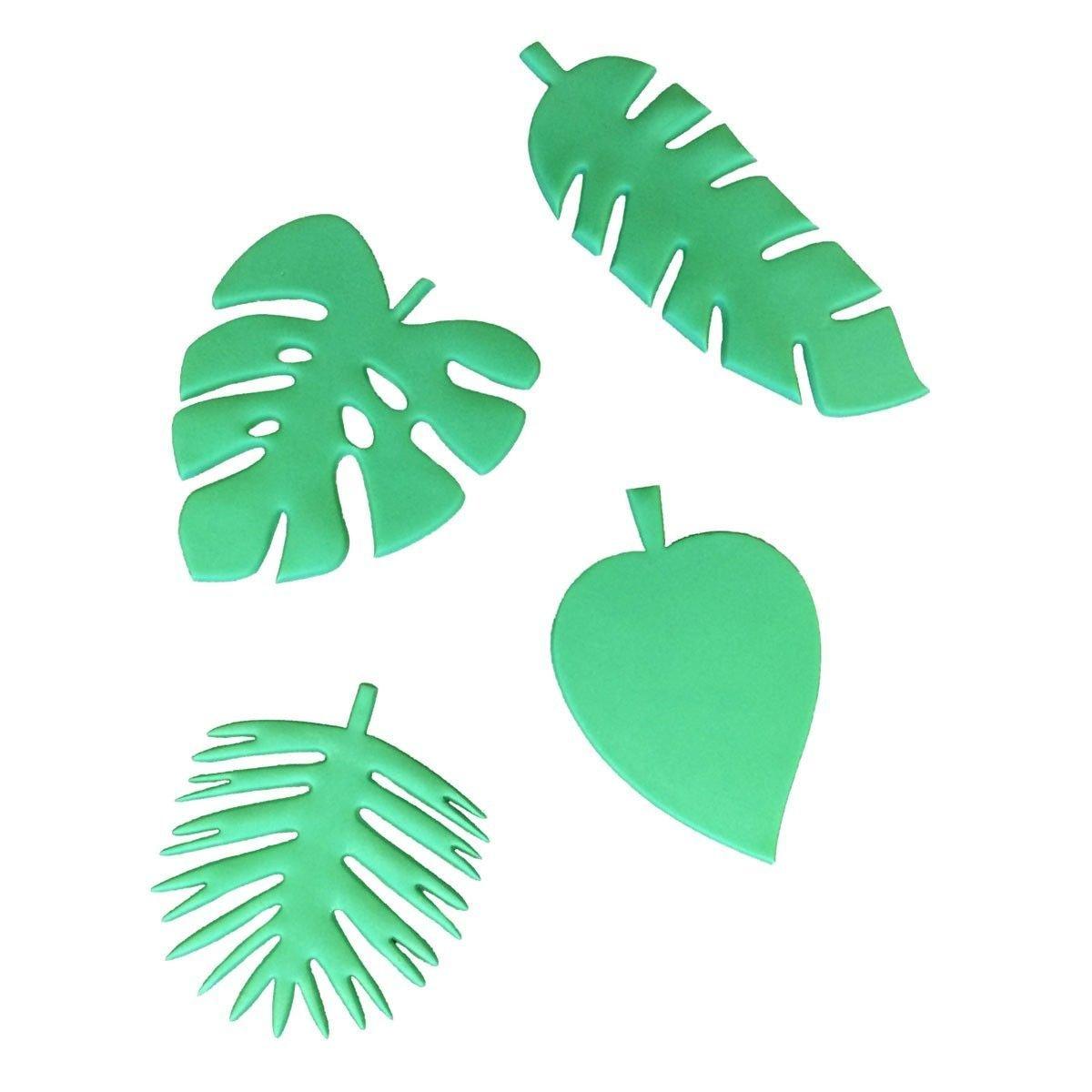FMM Flower Cutters -TOTALLY TROPICAL LEAVES -Κουπάτ Τροπικά Φύλλα 4 τεμ