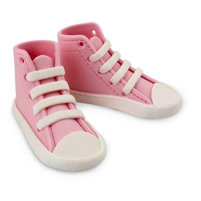 PME Edibles -Sugar High Cut Pink Sneakers -Βρώσιμα Ζαχαρένια Ροζ Αθλητικά Παπούτσια