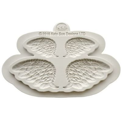 Katy Sue Silicone Mould -WINGS -Καλούπι Σιλικόνης Φτερά