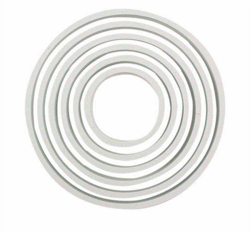 PME BASICS Set of 6 Round / Circle Cutters
