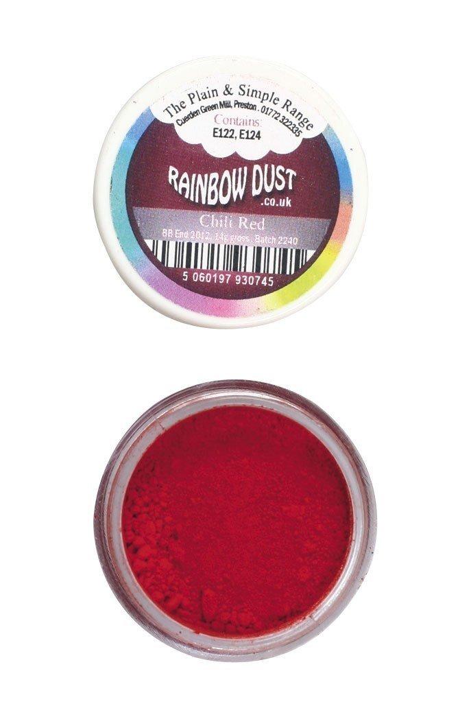 Rainbow Dust - Edible Dust Matt Chilli Red - Βρώσιμη Σκόνη Ματ Κόκκινο Τσίλι